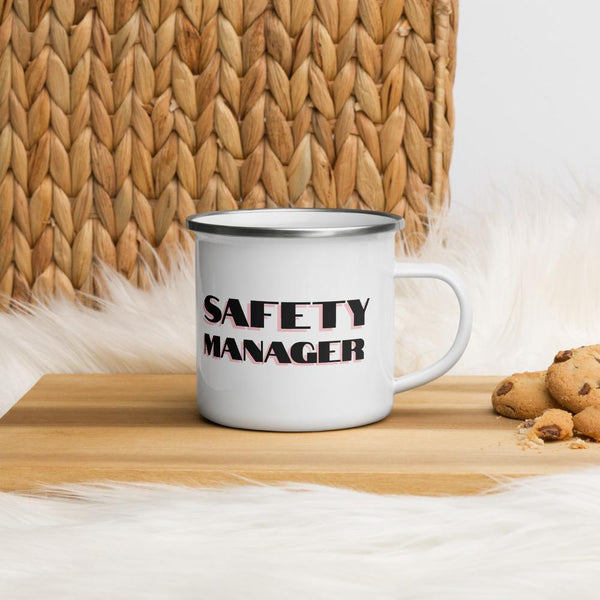Safety Manager - Enamel Mug Mug Inspire Safety