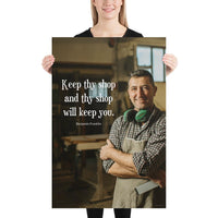 Keep Thy Shop - Premium Safety Poster Poster Inspire Safety 24×36
