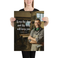 Keep Thy Shop - Premium Safety Poster Poster Inspire Safety 18×24