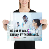 Wise Enough - Premium Safety Poster Poster Inspire Safety 16×20