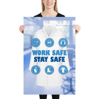 Work Safe, Stay Safe - Premium Safety Poster Poster Inspire Safety