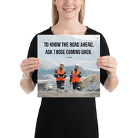 Road Ahead - Premium Safety Poster Poster Inspire Safety 12×12