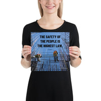 The Highest Law - Premium Safety Poster Poster Inspire Safety 10×10