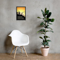 Great Safety Culture - Framed Framed Inspire Safety 12×18