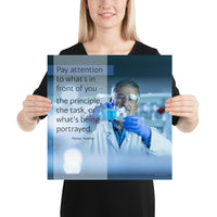 Pay Attention - Premium Safety Poster Poster Inspire Safety 16×16
