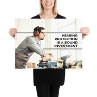 Sound Investment - Premium Safety Poster Poster Inspire Safety 18×24