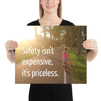 Safety Isn't Expensive - Premium Safety Poster Poster Inspire Safety 16×20