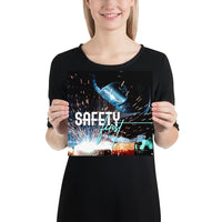Safety First - Premium Safety Poster Poster Inspire Safety 10×10