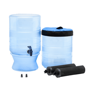 Berkey Light® System (2.75 gal) with Black Berkey Filters-Berkey-New Millennium Concepts LTD-2 Black Berkey® Purification Elements-Epic Water Systems