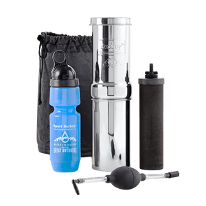 Berkey Light® System (2.75 gal) with Go Berkey® Kit with Black Berkey Primer™-Purifier-New Millennium Concepts LTD-Epic Water Systems