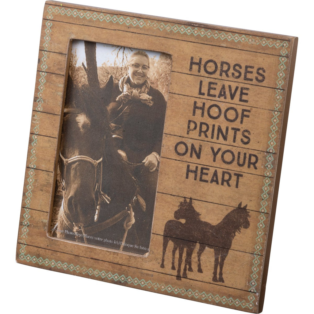 Frame - Horses Leave Hoofprints On Your Heart