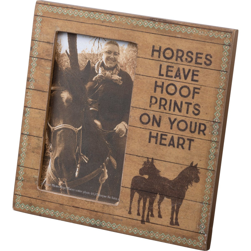 Frame- Horses Leave Hoofprints On Your Heart