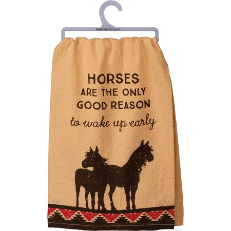 Towel- Horses Are The Only Good Reason