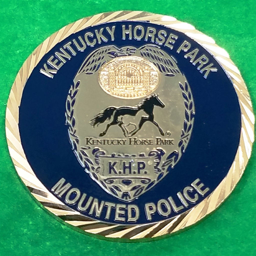 KHP MOUNTED POLICE CHALLENGE COIN
