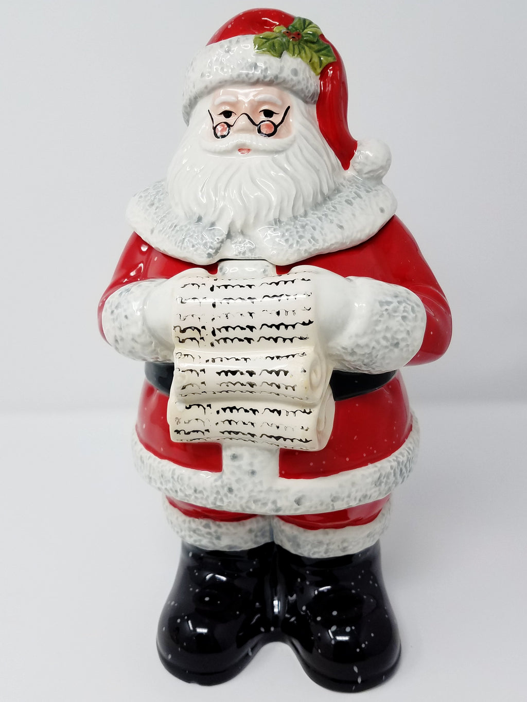CERTIFIED SANTA COOKIE JAR