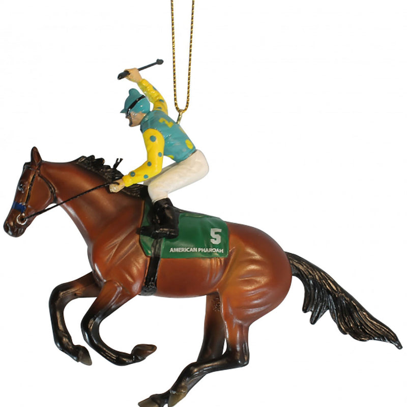 Breyer - American Pharoah Ornament - Kentucky Horse Park