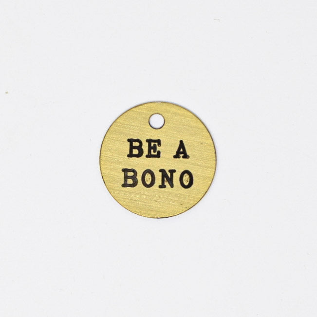 Be A Bono Halter Tag