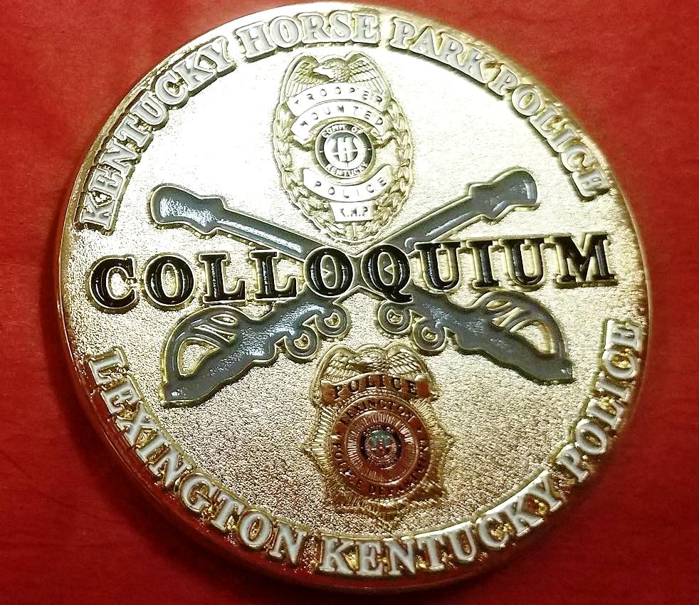 2018 Kentucky Horse Park Mounted Police Colloquium Coin