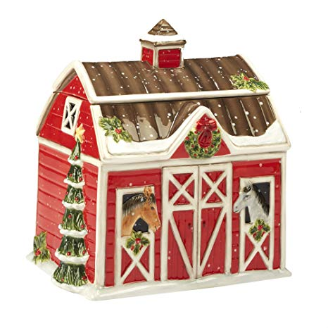 Cookie Jar - Christmas On The Farm