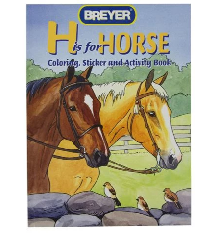Book H is for Horse Coloring and Activity
