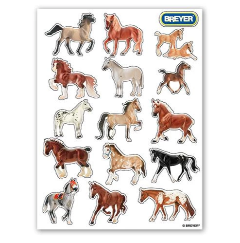 Breyer Book H is for Horse Coloring and Activity