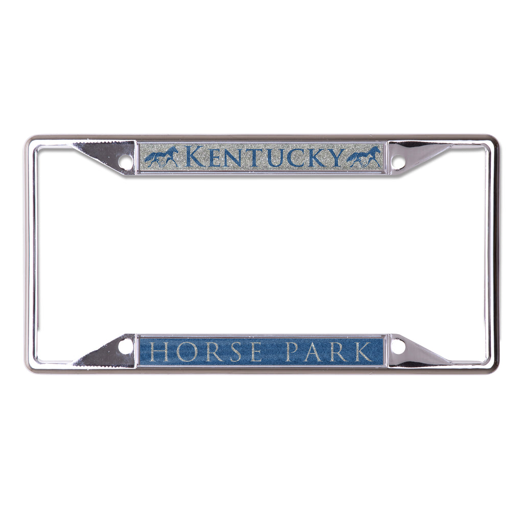 Glitter License Plate Frame - Kentucky Horse Park