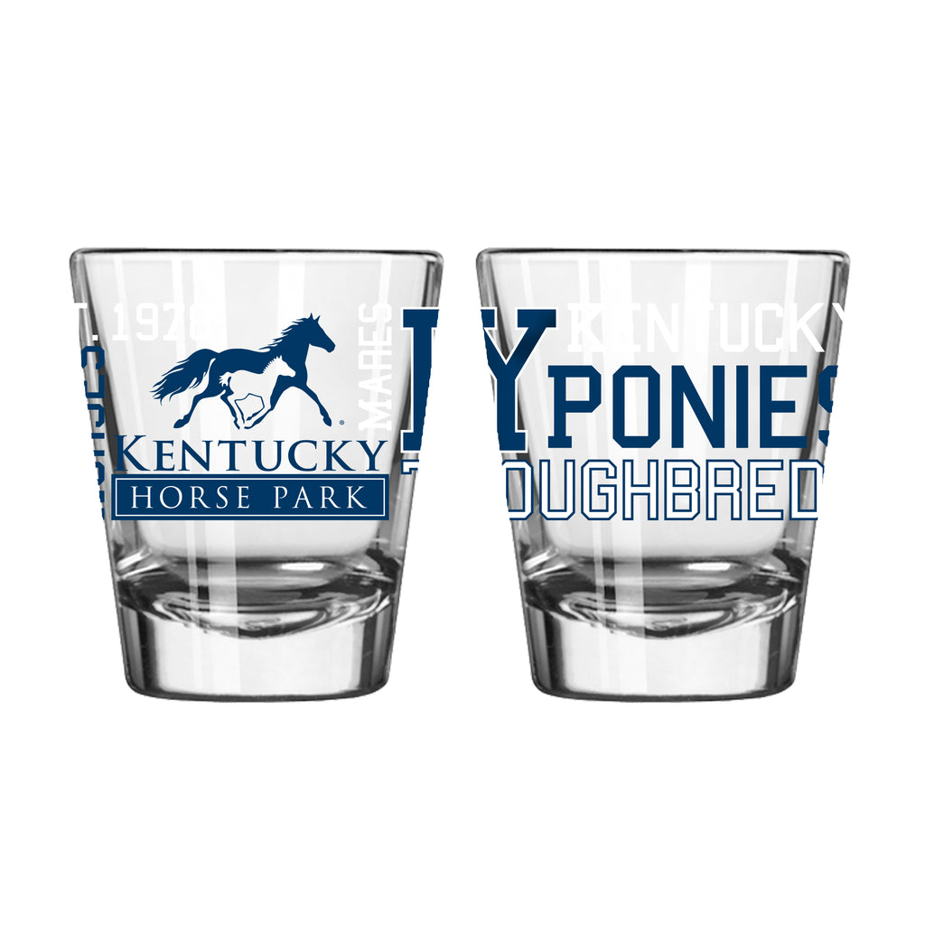 Collectible 2oz Spirit Glass - Kentucky Horse Park
