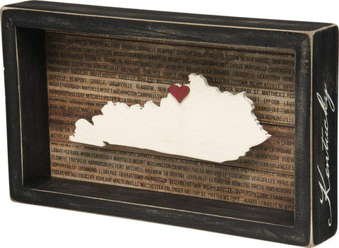 Kentucky Bourbon Barrel Large Wall Mount Plaque