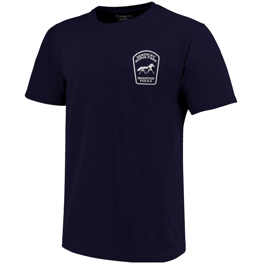 Mounted Police T-Shirt - Navy - Kentucky Horse Park