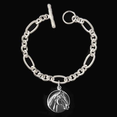 Bracelet - Man o' War Sterling Silver Toggle - Kentucky Horse Park
