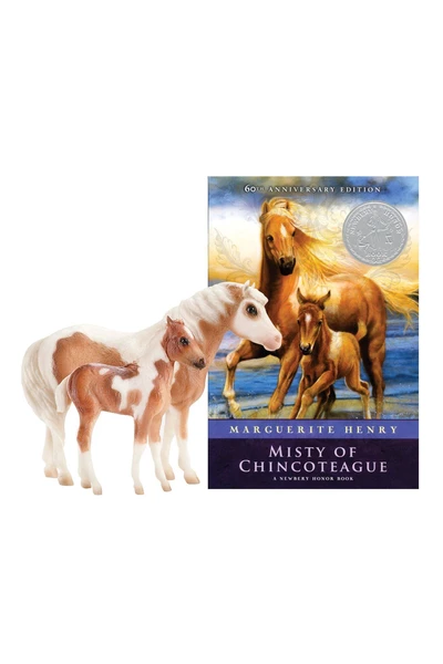Breyer Misty and Stormy Horses and Book Set