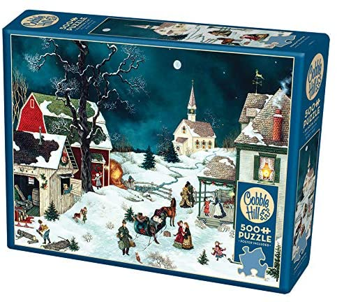 Moonlit Winter Puzzle