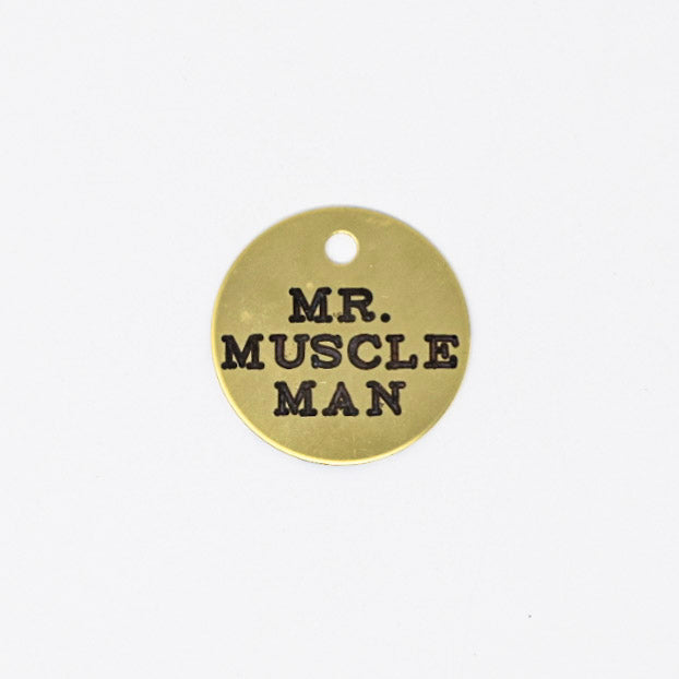 Mr. Muscleman Halter Tag