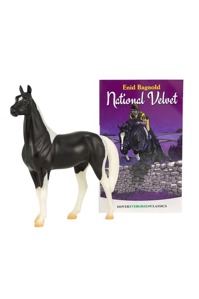 Breyer National Velvet Horse and Book Set