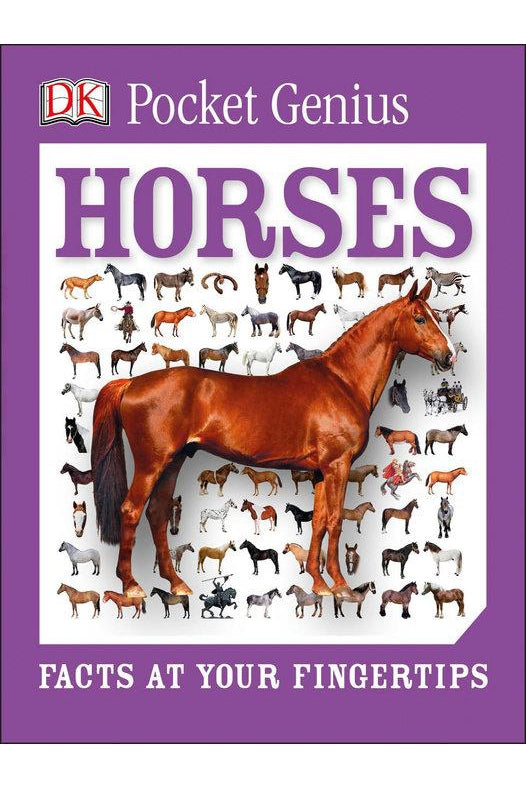 Book - Pocket Genius Horses - Kentucky Horse Park