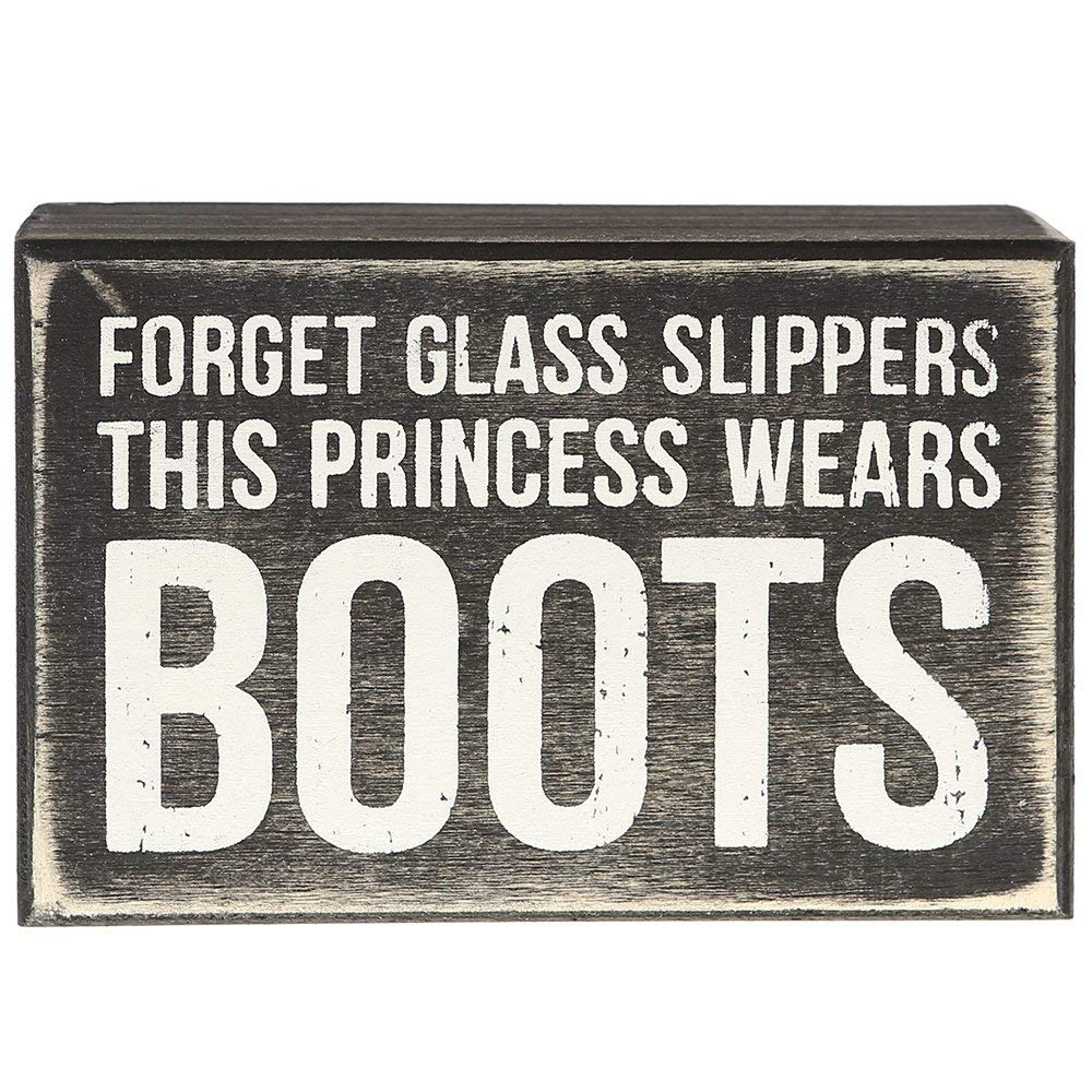 Box Sign - Princess Boots - Kentucky Horse Park