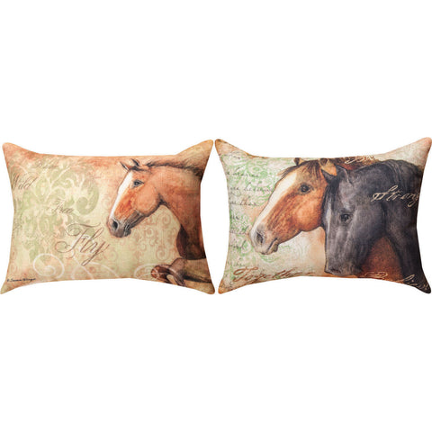 Painted Horses Coaster 4 Pack