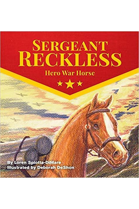 Book- Sergeant Reckless: Hero War Horse (HARDBACK)