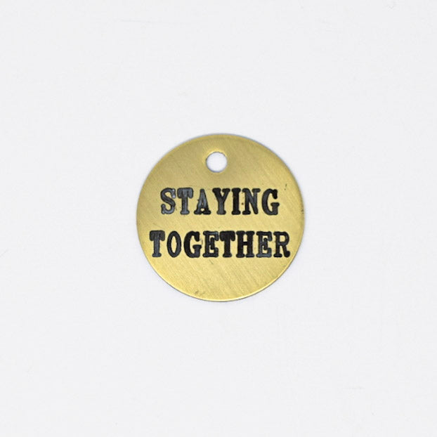 Staying Together Halter Tag