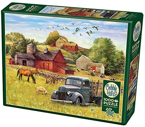 Summer Afternoon on the Farm Puzzle
