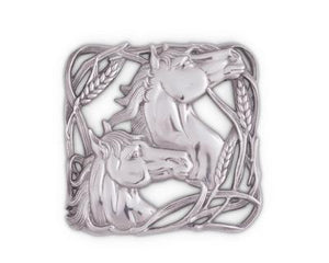 Horse w/ Wheat Trivet by Arthur Court - Kentucky Horse Park