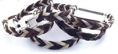 Genuine Horse Hair Bracelet-Two Toned-T