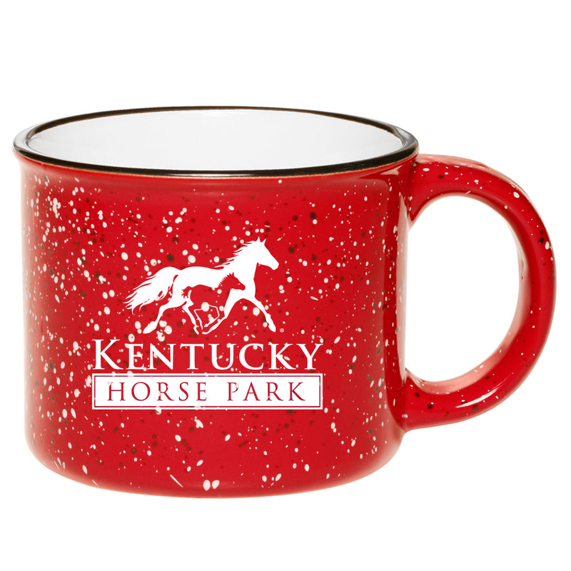 Coffee Mug - KHP Campfire Red - Kentucky Horse Park