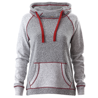 Camp David Horizon Hoodie (Grey/Red)