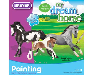 Breyer- Horse Family Paint Set - Kentucky Horse Park