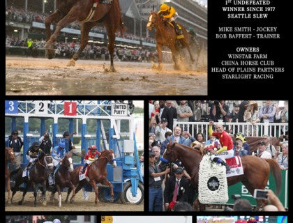 Justify 8 x 10 Collage - Kentucky Horse Park