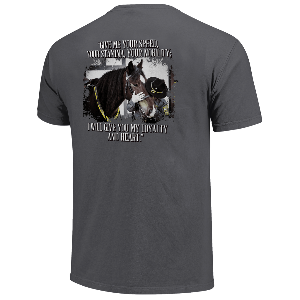 Mounted Police T-Shirt - Grey - Kentucky Horse Park