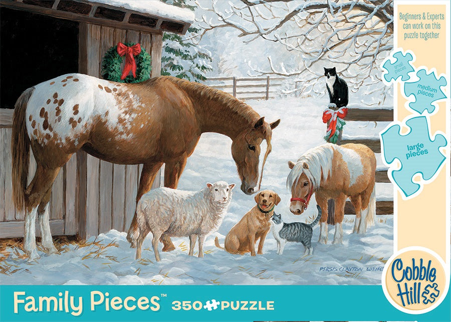 Puzzle - Winter Barnyard