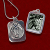 Necklace - Secretariat Photo Pendant - Kentucky Horse Park