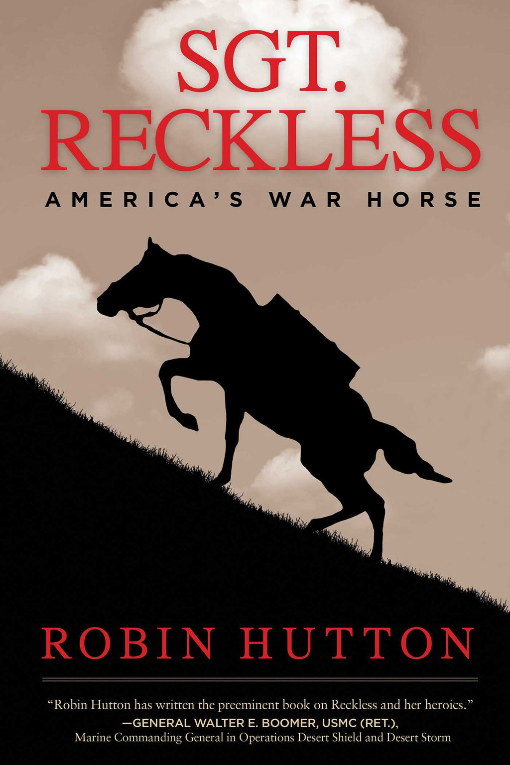 Book - Sgt Reckless (Hardcover) - Kentucky Horse Park